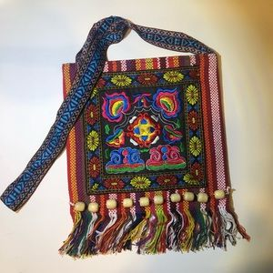 Handbags - Festival Crossbody Embroidered Boho Design